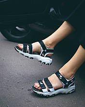 Skechers D'Lites Sandal Black