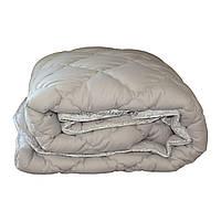 Одеяло зимнее теплое стеганное евро 200х220 см холлофайбер ODA SM 8004 grey and white