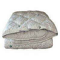 Одеяло зимнее теплое стеганное евро 200х220 см холлофайбер ODA SM 8005 white and grey, фото 1