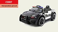 Детский легковой электромобиль Ford Mustang Police C2007