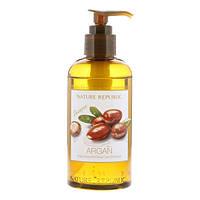Интенсивно восстанавливающий шампунь для волос с аргановым маслом, Nature Republic, Argan Essential Deep Care Hair Shampoo, 300 мл