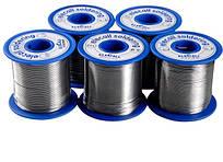 Припой EleCall  диаметром 0,5 мм , состав: Sn 55%.   Вес 450 гр