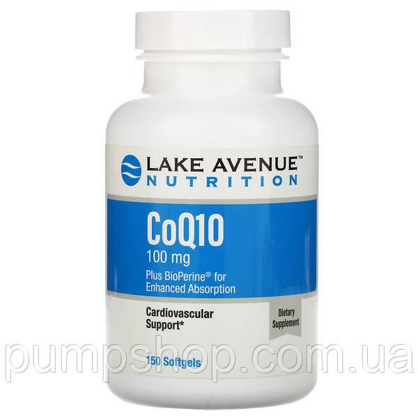Коэнзим Q10 с биоперином Lake Avenue Nutrition CoQ10 Plus Bioperine 15Нет в наличии