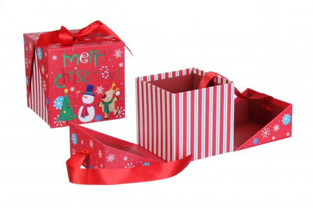 Новогодние подарочные коробки