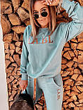 Спортивний костюм жіночий фісташка, кэмэл, фото 4