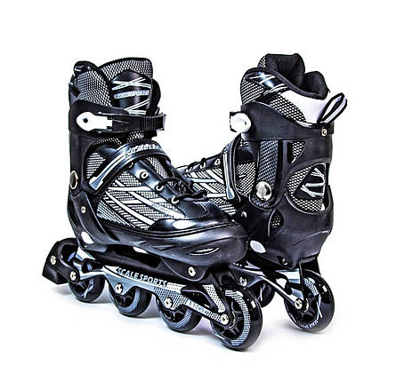 Ролики Scale Sports.Adult Skates. Black размер 41-44, фото 2