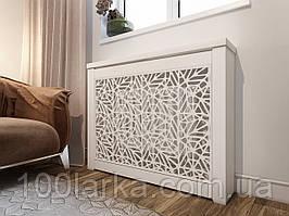 Декоративна решітка екран (короб) на батарею опалення R110-K60