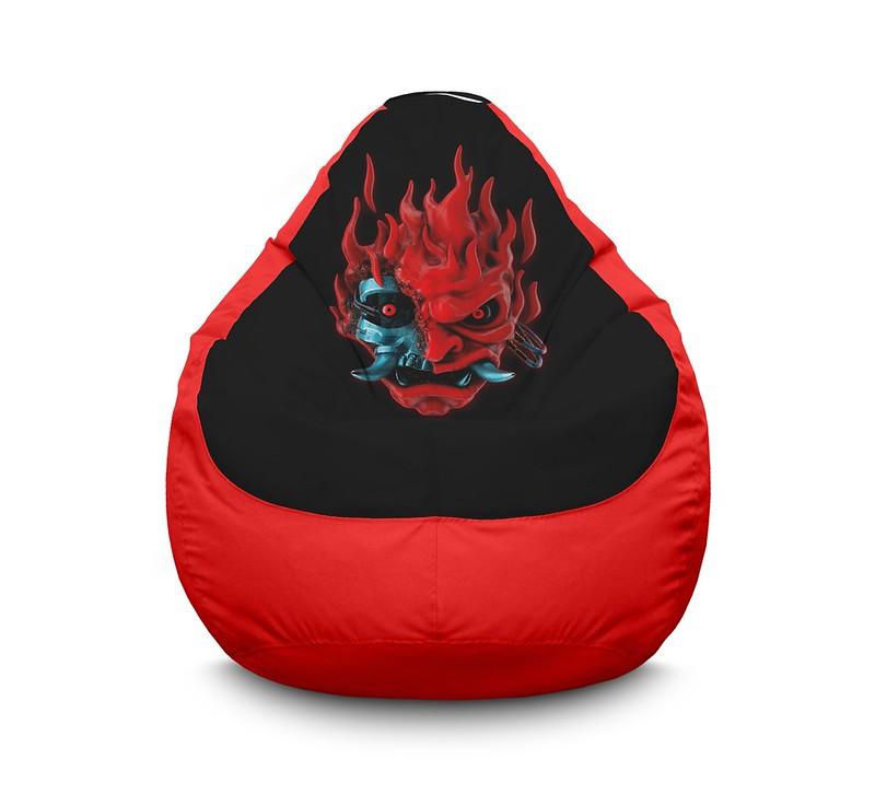 "Кресло мешок ""Cyberpunk 2077. Samurai"" Оксфорд"