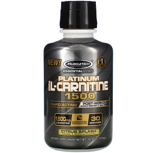 Л-Карнитин Muscletech Essential Series Platinum 100% L-Carnitine 1500 mg (473 мл.)