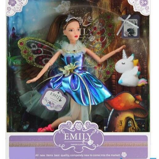 Лялька Emily з Единарогом