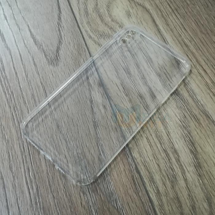 Силиконовый чехол KST для Apple iPhone X / XS с защитой от пыли и ударов. Прозрачный