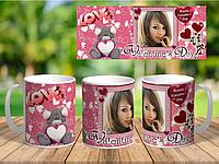 Кружки подарок на день Святого Валентина