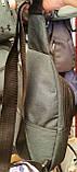 Спортивні та міські барсетки, слінги унісекс з двома відділами на блискавці 17*31 см, фото 3