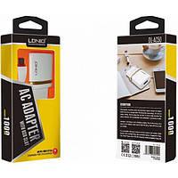 "Адаптер 220v 1 USB 1000mA ""LDINO"" DL-AC50 + кабель MicroUsb White"