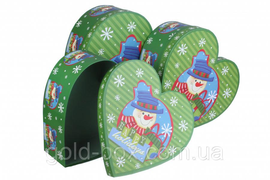 Коробочки новогодние 3 в 1 оптом