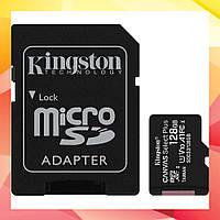 Карта пам'яті Kingston 128GB microSDXC Class 10 UHS-I/U1 V10 A1 Canvas Select Plus (SDCS2/128GB)