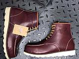 Мужские ботинки Red Wing Shoes осень-зима, зимние ботинки ред винг, осенние ботинки Red Wing Classic, фото 10