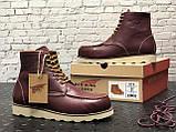 Мужские ботинки Red Wing Shoes осень-зима, зимние ботинки ред винг, осенние ботинки Red Wing Classic, фото 7