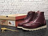 Мужские ботинки Red Wing Shoes осень-зима, зимние ботинки ред винг, осенние ботинки Red Wing Classic, фото 3