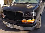 НАШИ РАБОТЫ: Ретрофит фар Chevrolet Express с установкой линз