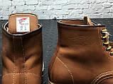 Чоловічі черевики Red Wing Shoes осінь-зима, зимові черевики ред вінг, осінні черевики Red Wing Classic, фото 8