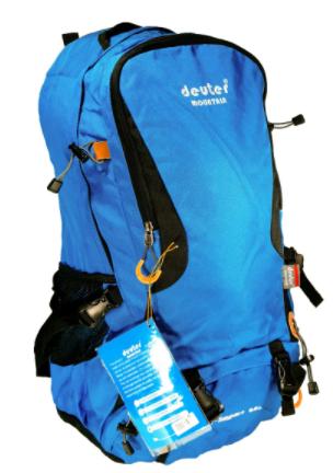 Рюкзак туристический с каркасной спинкой Deuter G34: объем 65 литров (4 цвета