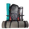 Рюкзак туристический с каркасной спинкой Deuter объем 65 литров, фото 7