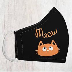 Захисна маска особи Meow 22х11 см (SMM_20S060)