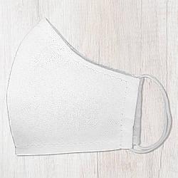 Захисна маска особи, розмір S-M Біла 22х11 см (SMM_20S059)