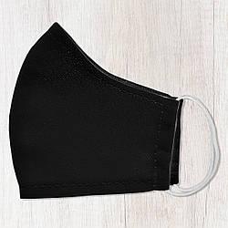 Захисна маска особи Чорна 22х11 см (SMM_20S057)