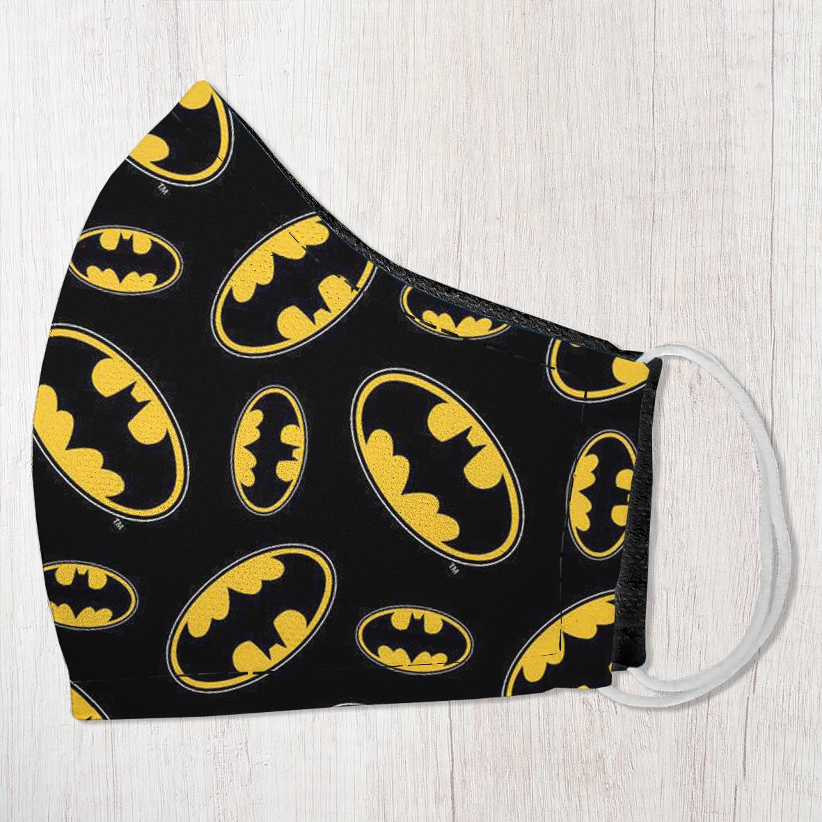 Захисна маска особи, розмір S-M Batman 22х11 см (SMM_20S048)