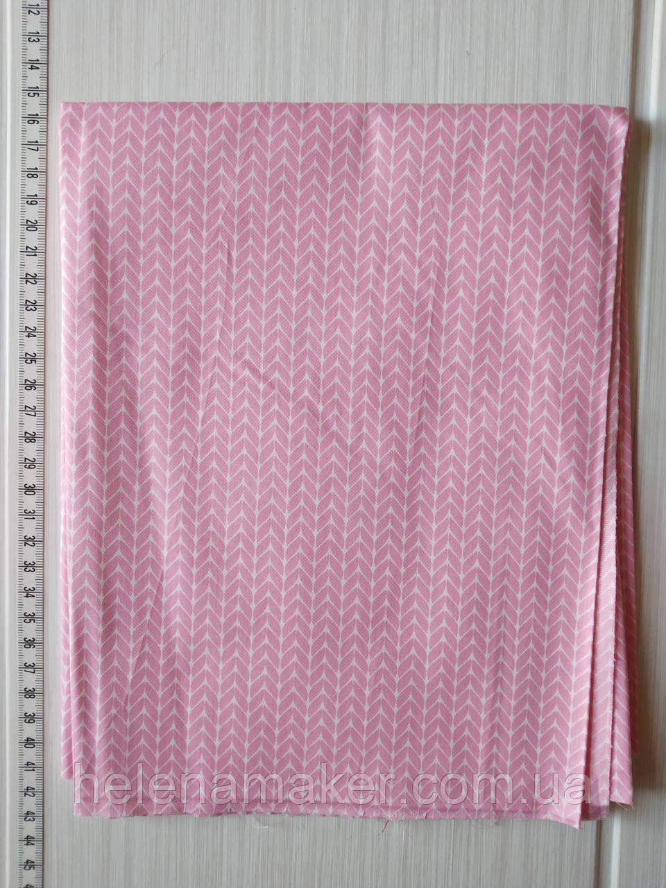 Рожевий светрик. Відріз сатину 40*50 див.