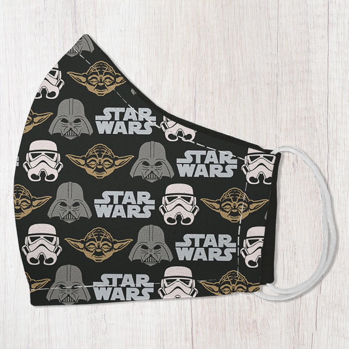 Защитная маска лица Star wars 22х11 см (SMM_20S031)