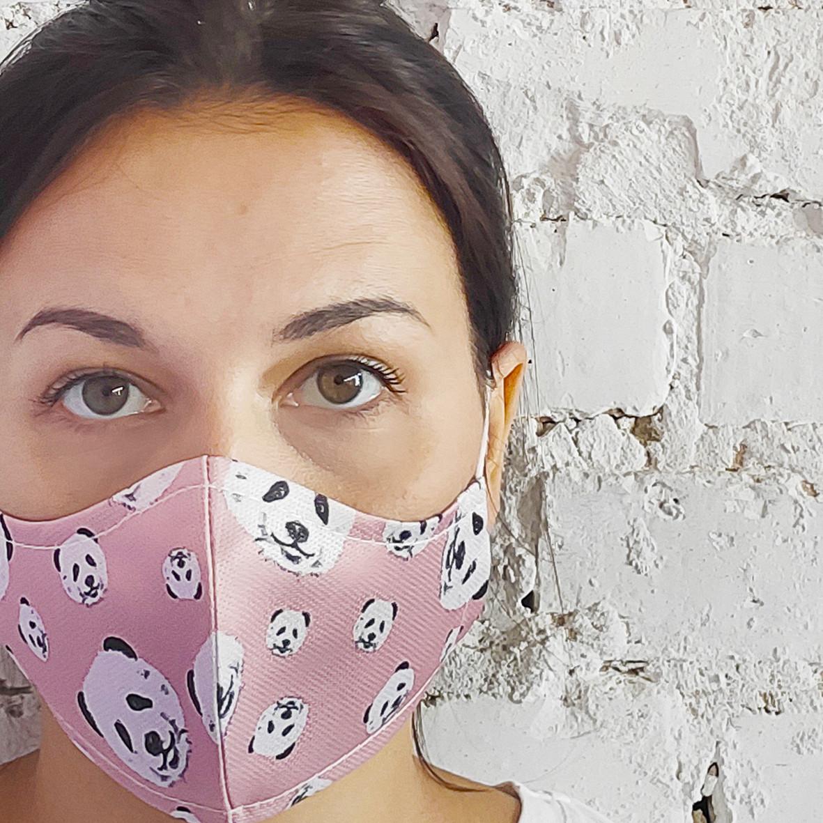 Захисна маска особи Панда 22х11 см (SMM_20S011)