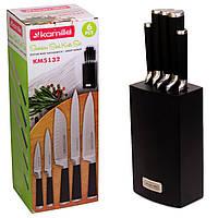 Набір ножів Kamille 6 предметів з нержавіючої сталі KM-5132