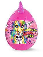 "Яйцо сюрприз ""Unicorn Surprise Box"", 15 сюрпризов, 20 см набор для детского креативного творчества."