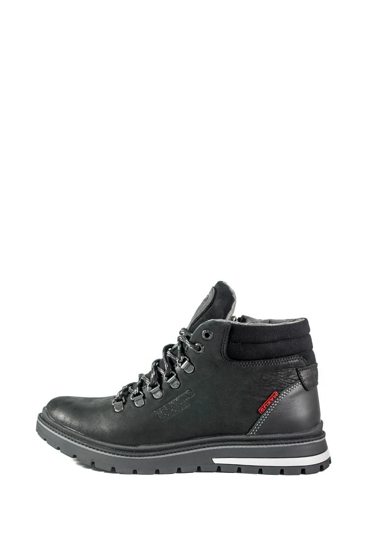 Ботинки зимние мужские Maxus Шарк ш чер тин черные (40)
