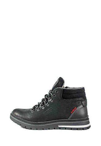 Ботинки зимние мужские Maxus Шарк ш чер тин черные (40), фото 2