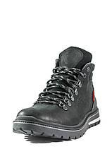 Ботинки зимние мужские Maxus Шарк ш чер тин черные (40), фото 3