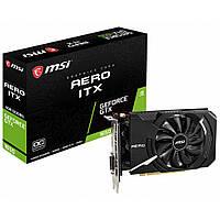 Видеокарта MSI GeForce GTX1650 4096Mb AERO ITX OC (GTX 1650 AERO ITX 4G OC), фото 1