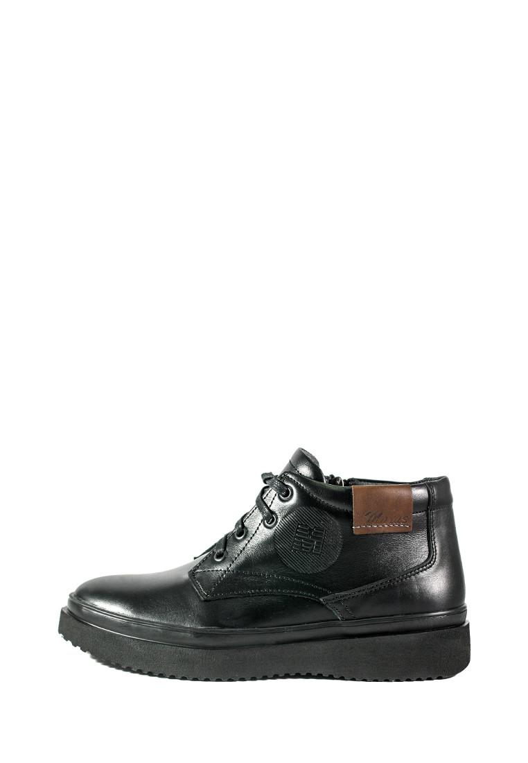 Ботинки зимние мужские Maxus Левис ш ч к черные (40)