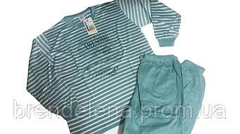 Пижама трикотажная для мальчиков рост 134-158 (9-13лет)