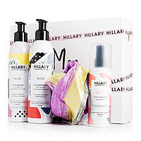Набор косметики для волос Hillary Silk Hair with Thermal Protection+подарок