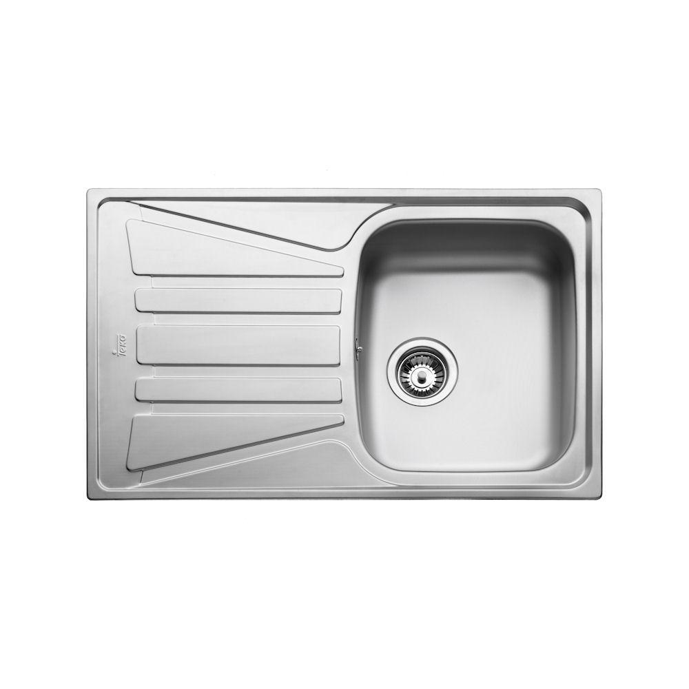 Кухонная мойка Тека Basico 79 1B 1D с крылом 79*50