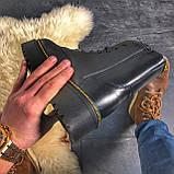 Женские зимние ботинки Dr. Martens Jadon Black (Мех), др мартенс, жіночі черевики Dr Martens, ботінки мартінс, фото 6