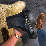 Женские зимние ботинки Dr. Martens Jadon Black (Мех), др мартенс, жіночі черевики Dr Martens, ботінки мартінс, фото 3