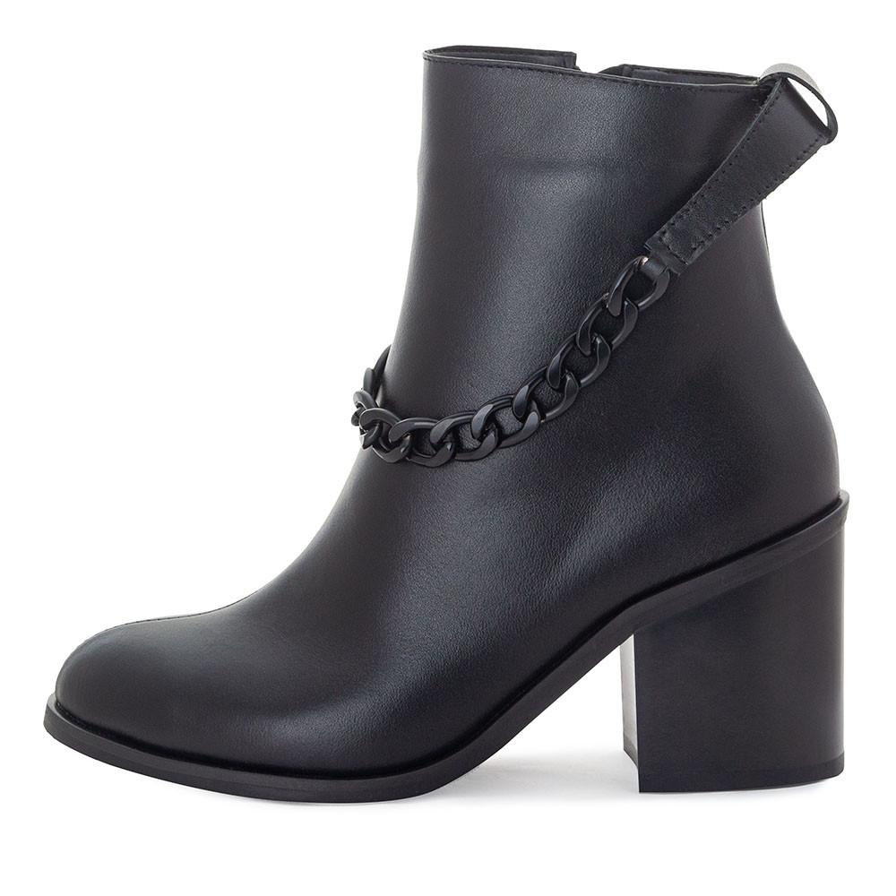 Черевики жіночі Tomfrie чорний 21804 (37)