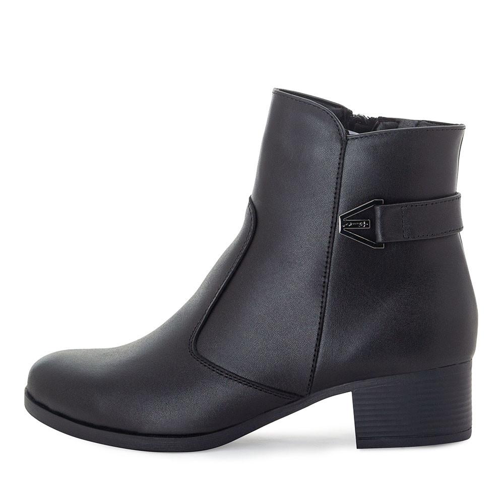 Черевики жіночі Tomfrie чорний 21795 (39)