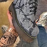 Женские зимние ботинки Dr. Martens Jadon Snake (Мех), др мартенс, жіночі черевики Dr Martens, ботінки мартінс, фото 4