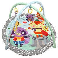 Развивающий коврик с дугами и игрушками для малышей Еноты, 3436PP